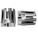 Axle Nut Chrome Castle