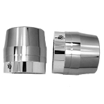 Axle Nut Chrome Elite