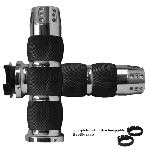 MT Air Cushion Chrome Gatlin Grips