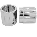 Axle Nut Chrome Rival